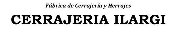 Fábrica de Cerrajería y Herrajes - Cerrajeria Ilargi